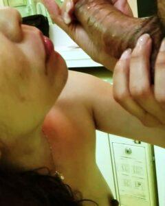 Nude babes cock sucking